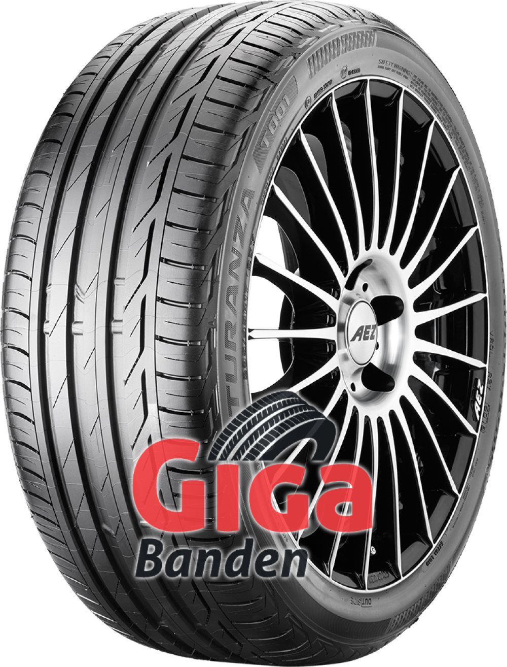 Bridgestone Turanza T001 Evo ( 195/55 R15 85V )