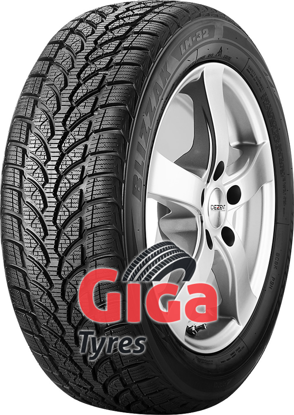 Bridgestone Blizzak LM-32 ( 225/60 R16 98H AO, with rim protection (MFS) )