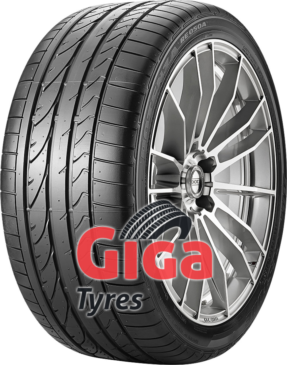 Bridgestone Potenza RE 050 A RFT ( 225/45 R17 91V *, with rim protection (MFS), runflat )