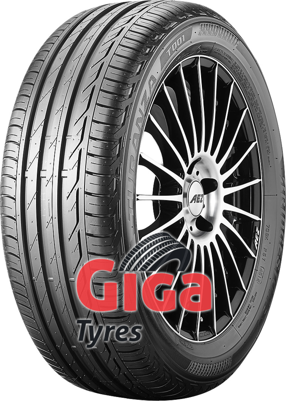 Bridgestone Turanza T001 ( 225/45 R18 91V with rim protection (MFS) )