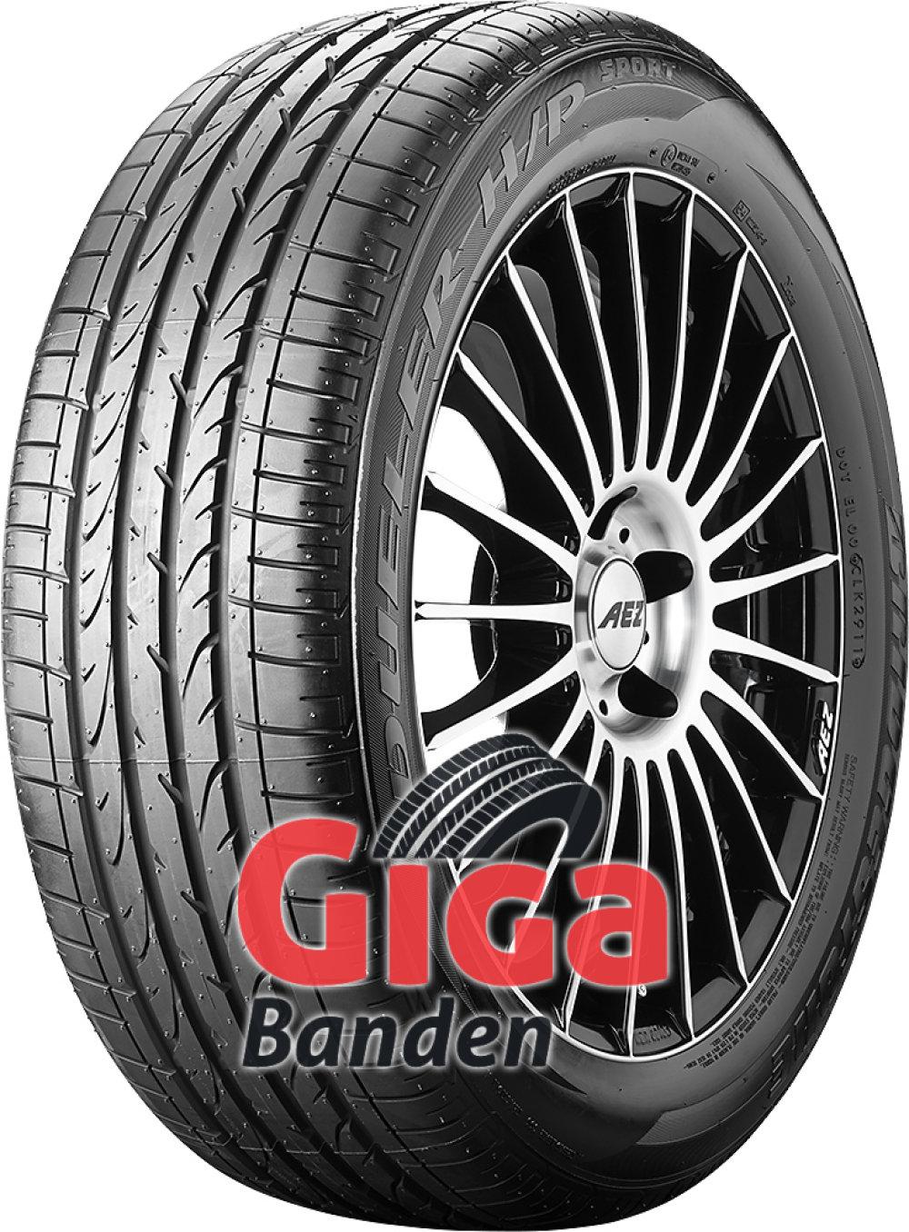 Bridgestone Dueler H/P Sport RFT ( 205/55 R17 91V *, met velgrandbescherming (MFS), runflat )