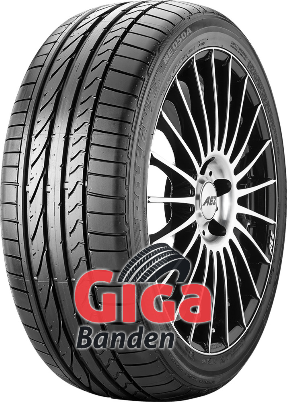 Bridgestone Potenza RE 050 A ( 225/45 R18 91V met velgrandbescherming (MFS) )