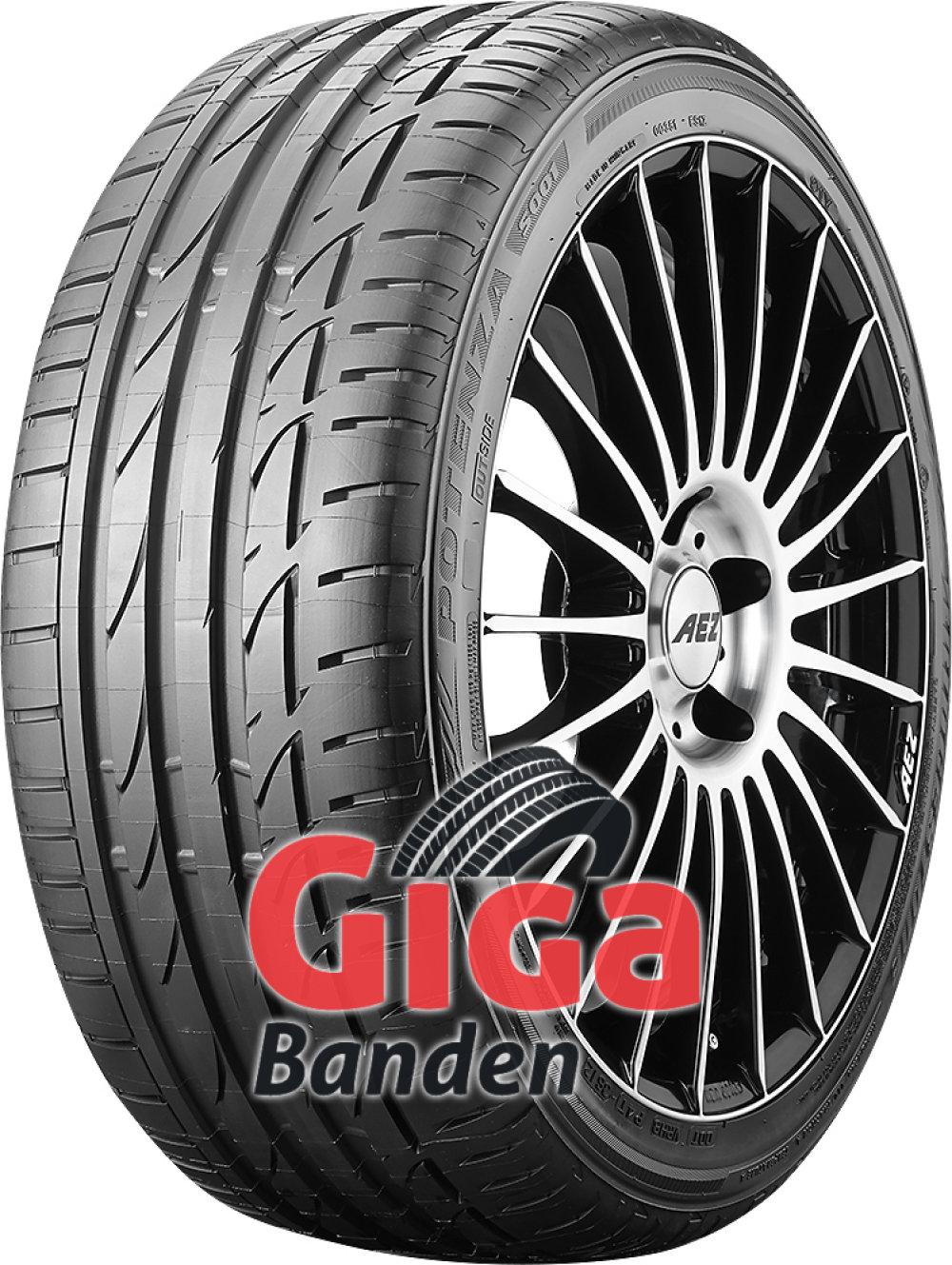 Bridgestone Potenza S001 RFT ( 225/40 R19 89Y runflat, *, met velgrandbescherming (MFS) )