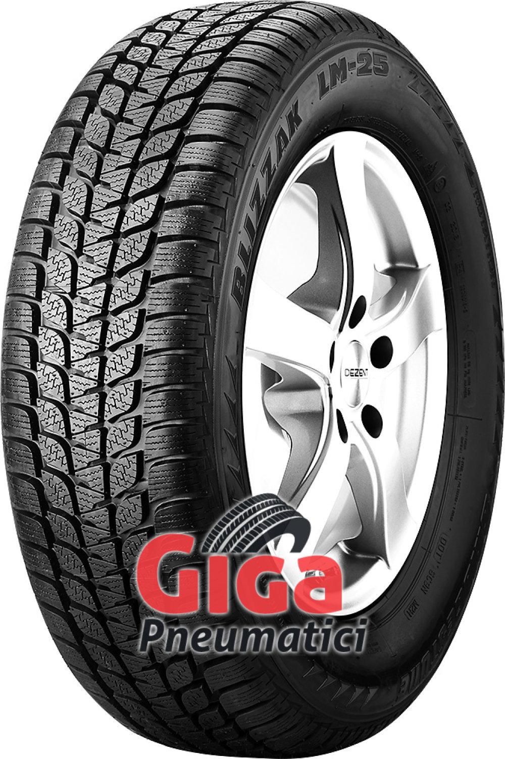 Bridgestone Blizzak LM-25 4x4 RFT ( 255/50 R19 107V XL , runflat, *, con protezione del cerchio (MFS) )