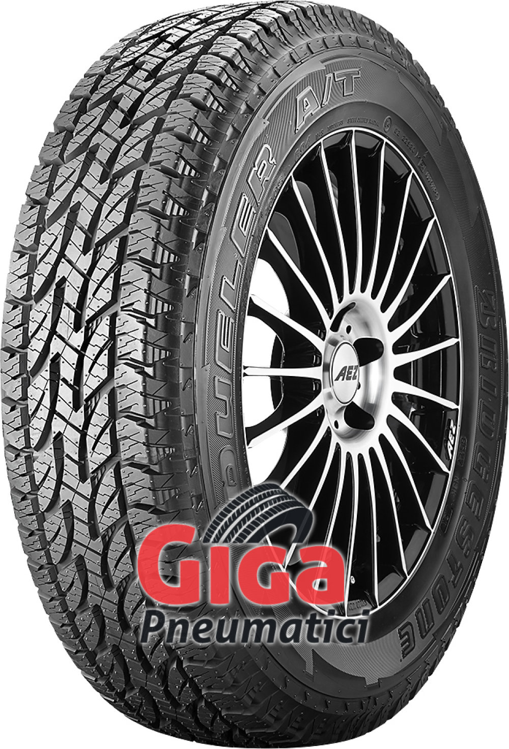 Bridgestone Dueler A/T 694 ( 225/70 R16 102S ROWL )