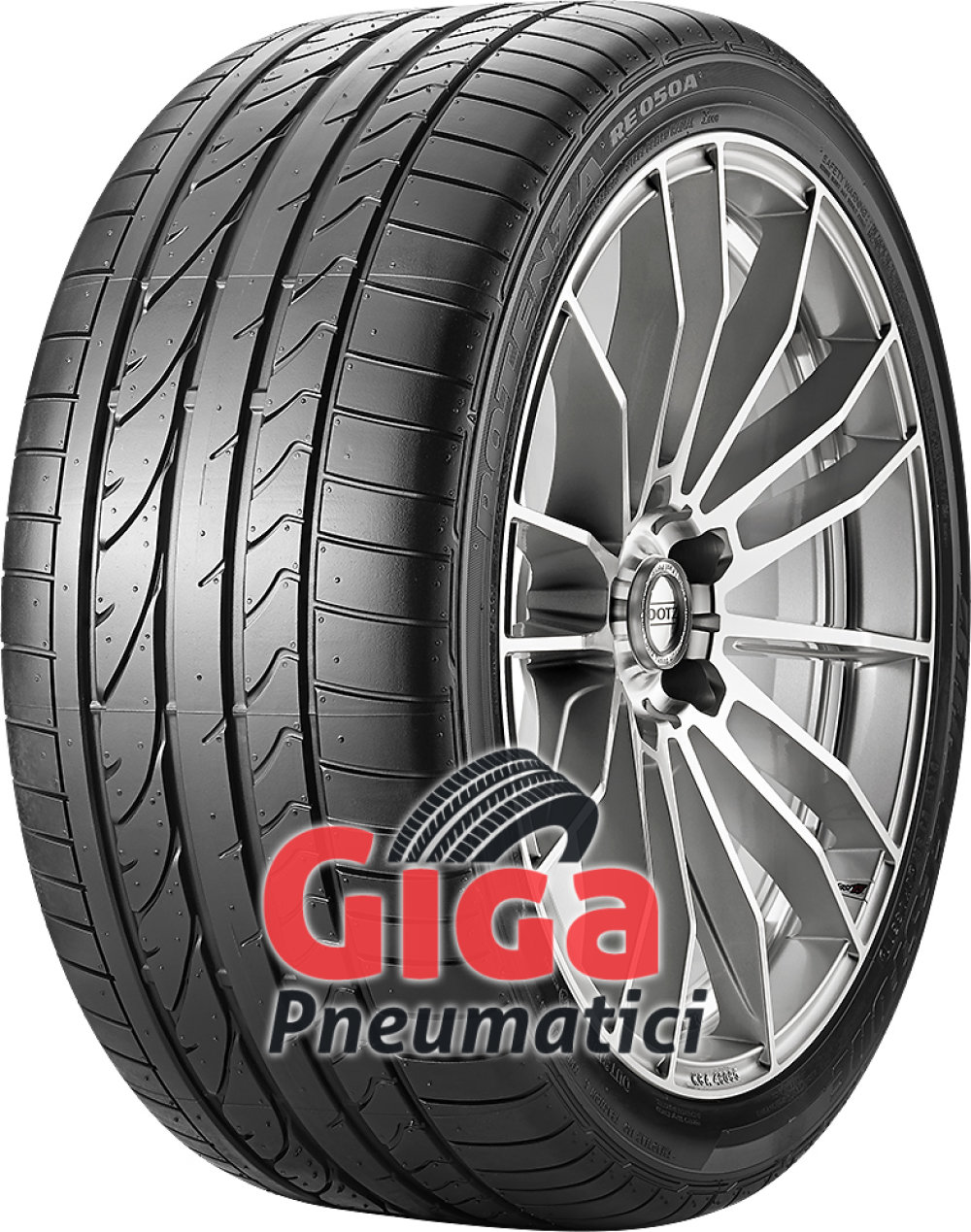 Bridgestone Potenza RE 050 A RFT ( 255/40 R17 94V runflat, *, con protezione del cerchio (MFS) )