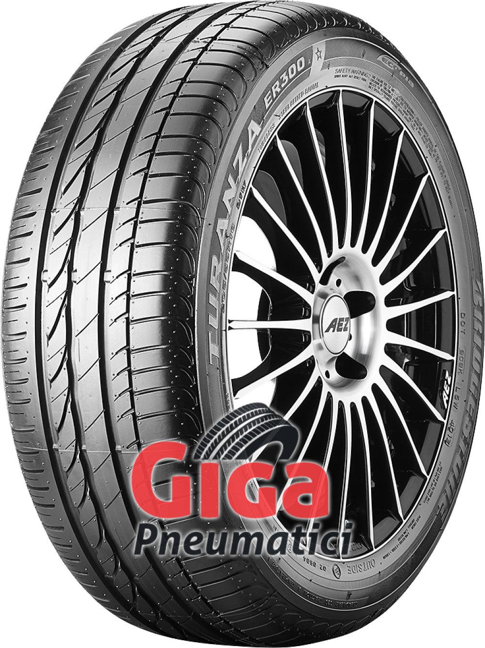 Bridgestone Turanza ER 300A Ecopia ( 205/55 R16 91W *, con protezione del cerchio (MFS) )