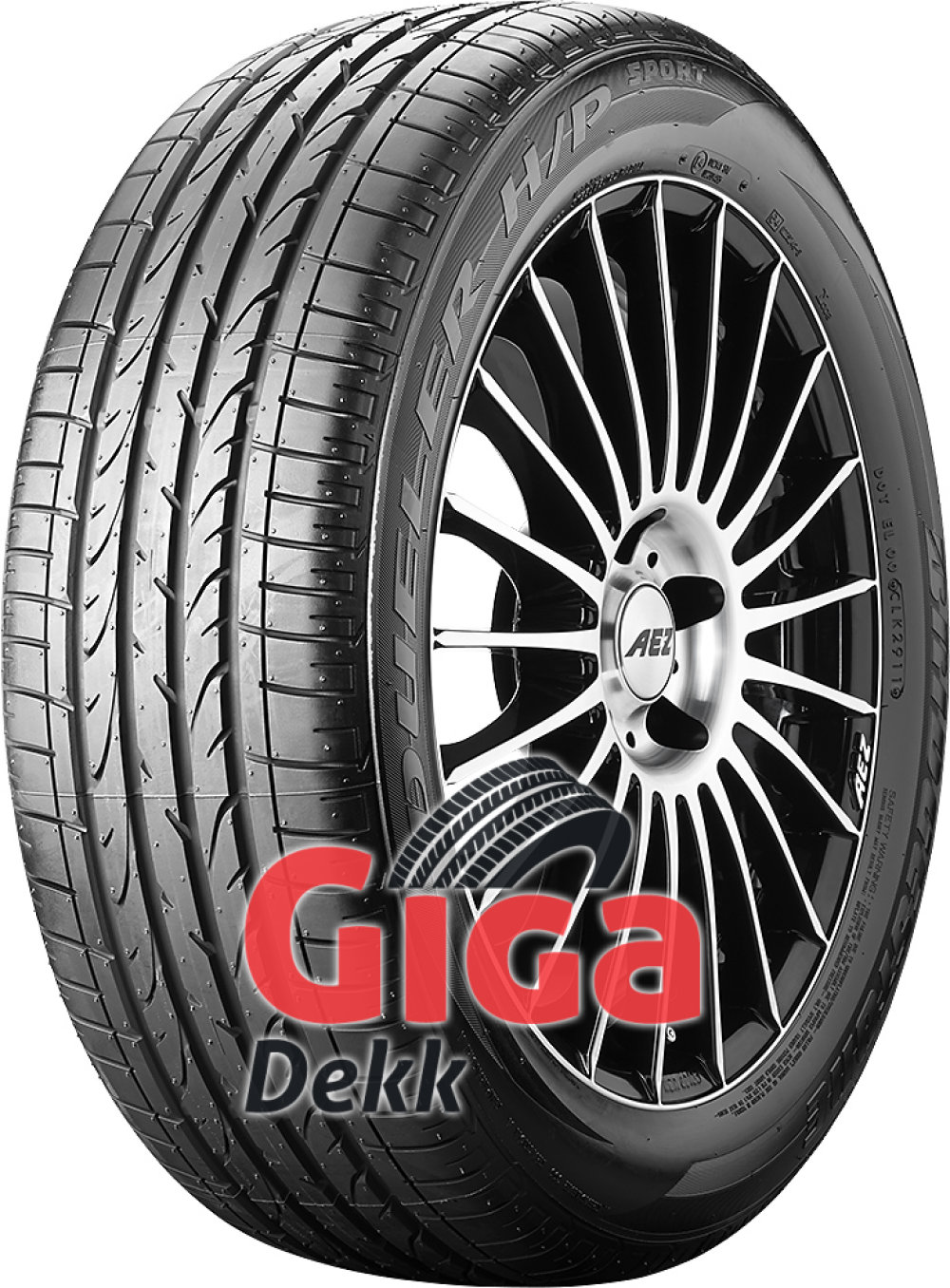 Bridgestone Dueler H/P Sport ( 255/55 R18 109W XL med felgbeskyttelse (MFS) )