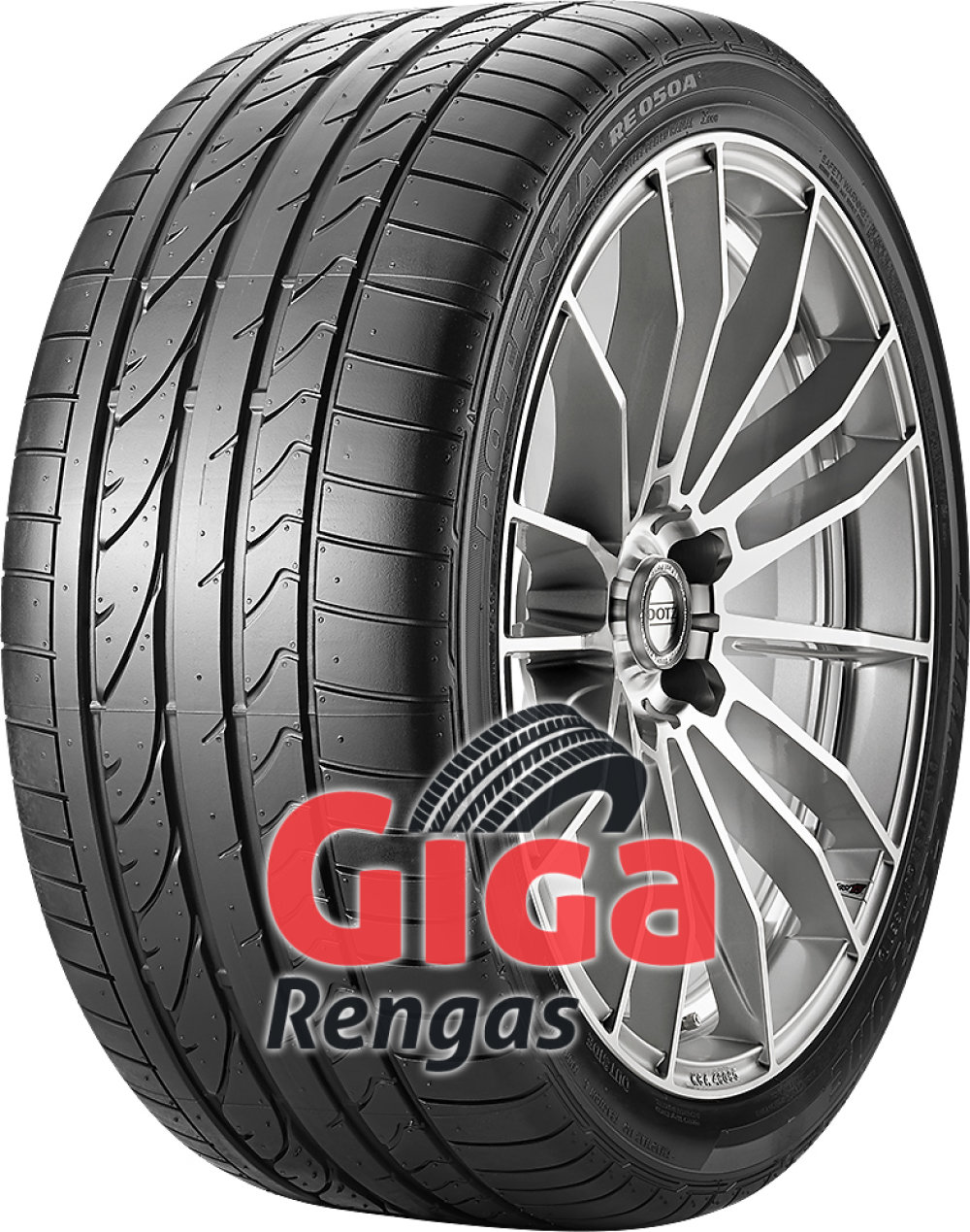 Bridgestone Potenza RE 050 A RFT ( 245/40 R18 93Y runflat, AOE )