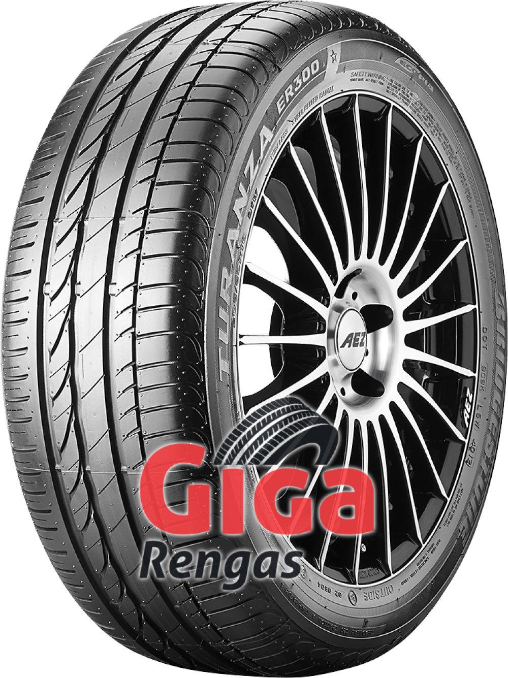 Bridgestone Turanza ER 300A Ecopia ( 195/55 R16 87V *, vannesuojalla (MFS) )