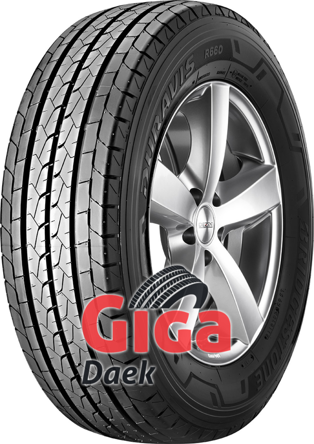 Bridgestone Duravis R660 ( 215/65 R15C 104/102T 6PR )