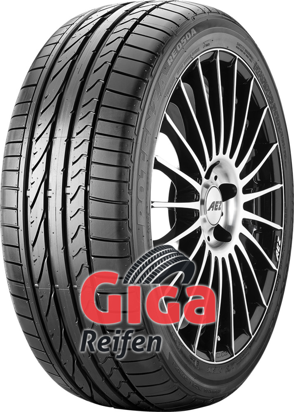 Bridgestone Potenza RE 050 A ( 205/45 R17 88W XL mit Felgenschutz (MFS) )