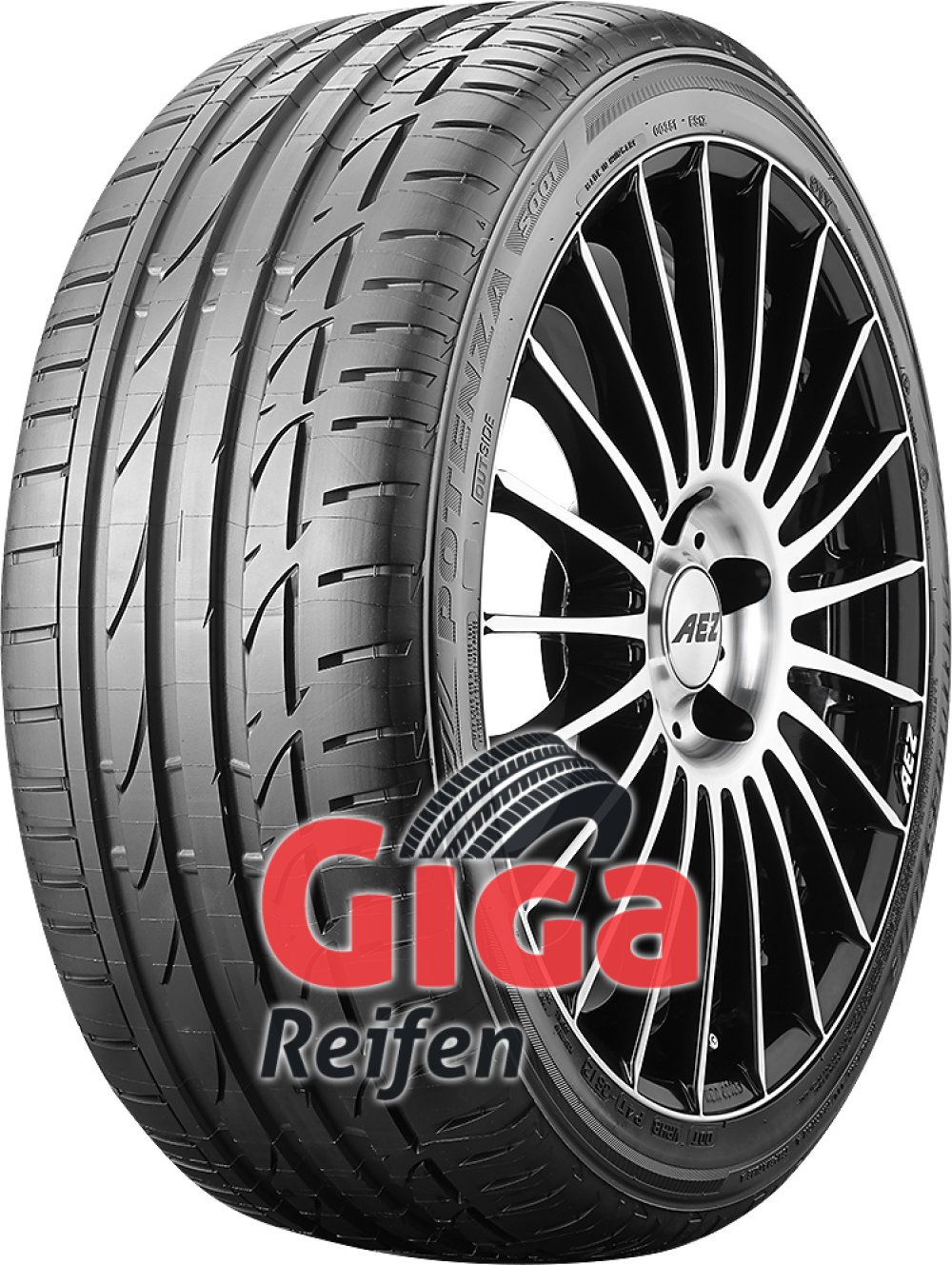 Bridgestone Potenza S001 RFT ( 245/40 R17 91W runflat, *, mit Felgenschutz (MFS) )