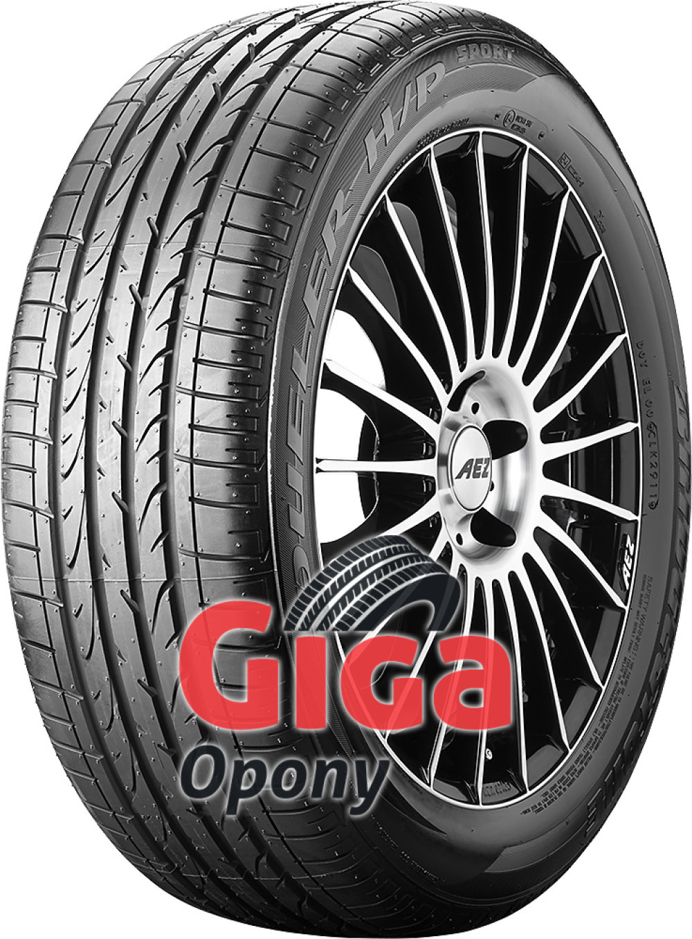 Bridgestone Dueler H/P Sport ( 265/50 R19 110W XL osłona felgi (MFS) )