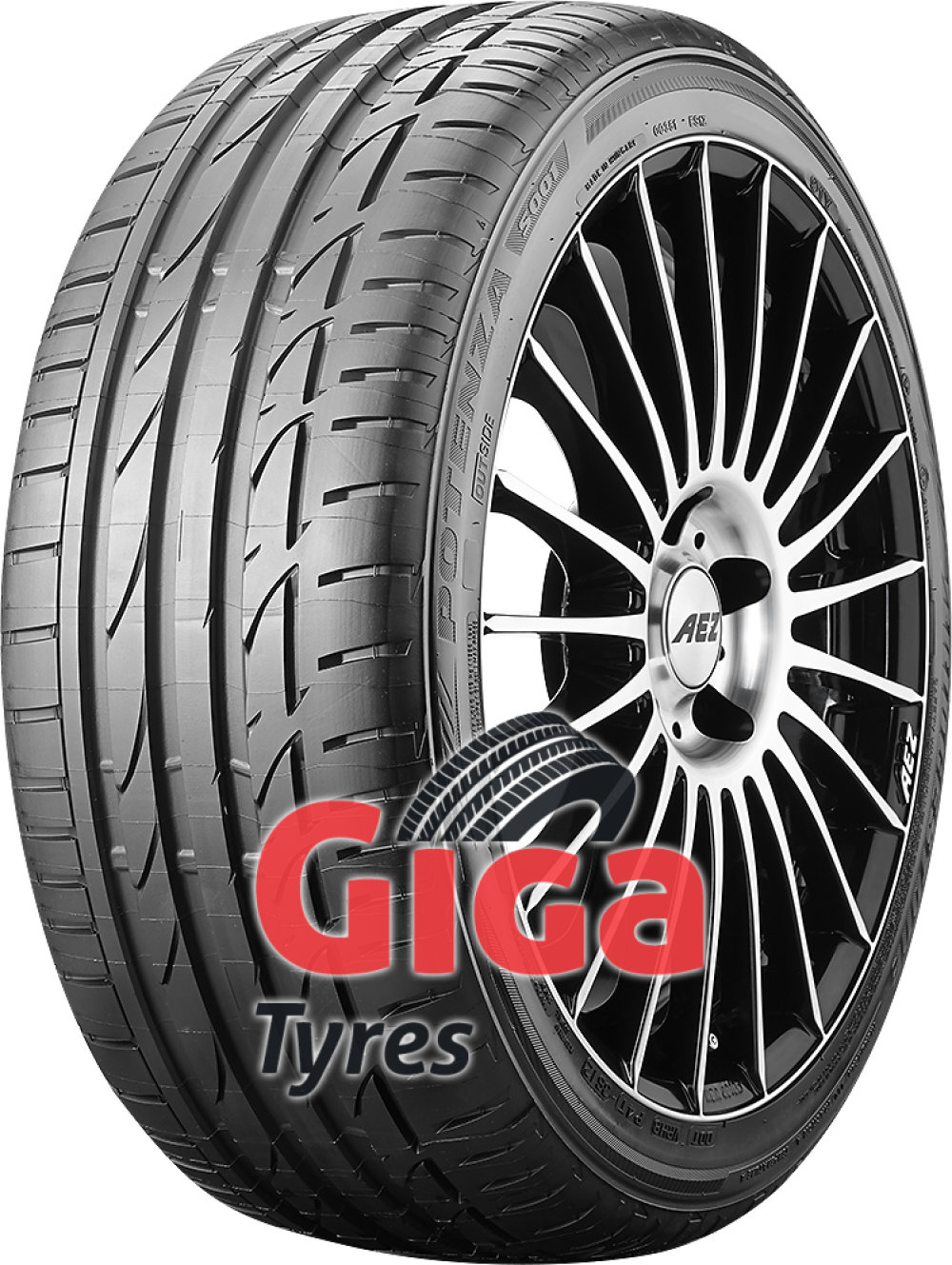 Bridgestone Potenza S001 RFT ( 225/40 R19 89Y AR, with rim protection (MFS), runflat )