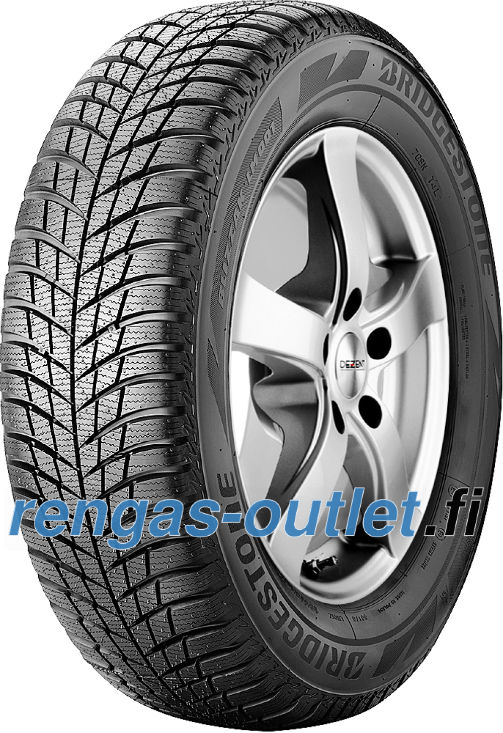 Bridgestone Blizzak LM 001 RFT ( 225/60 R18 104H XL *, runflat )