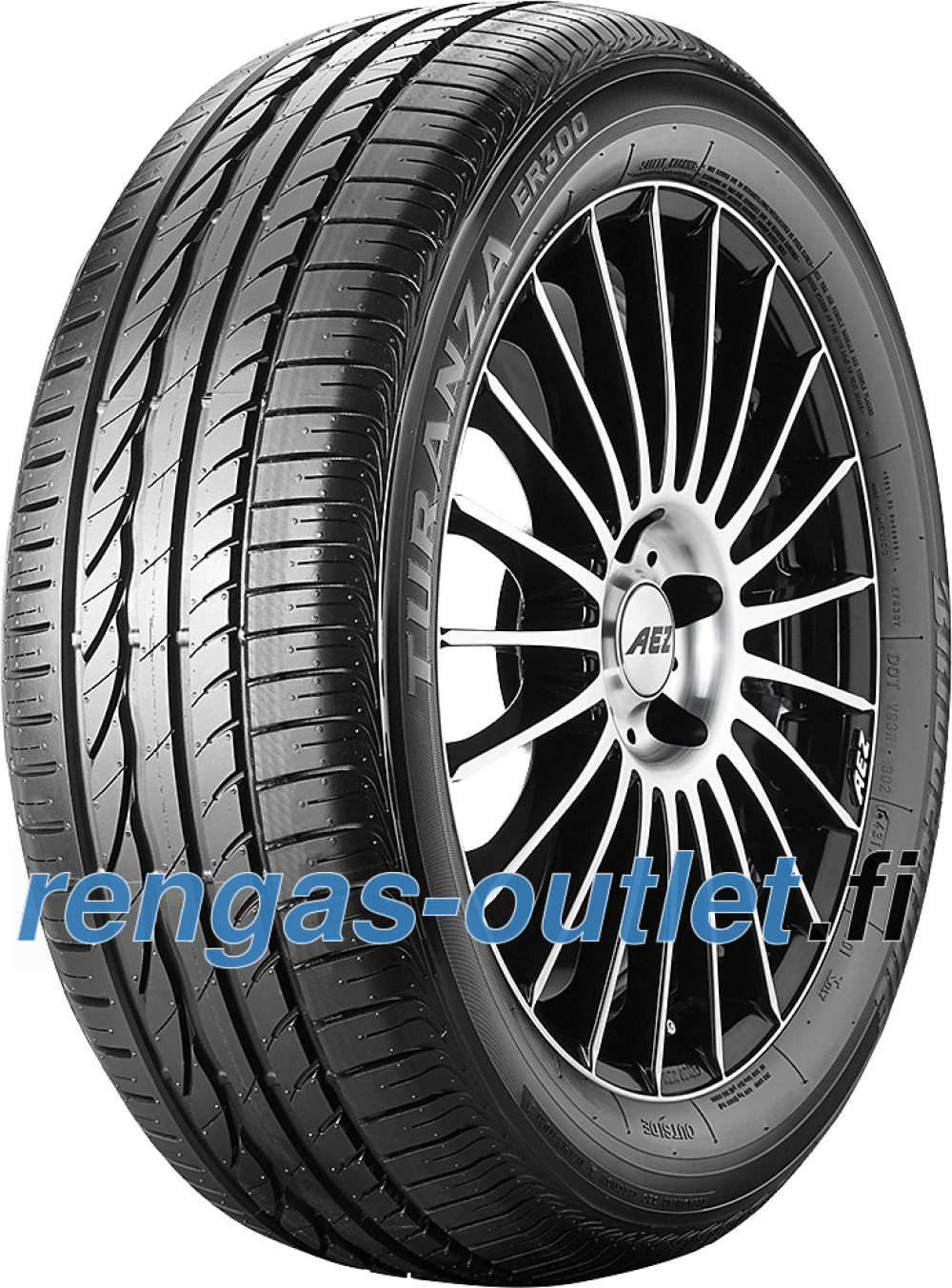 Bridgestone Turanza ER 300 ( 225/55 ZR17 97Y vannesuojalla (MFS) )