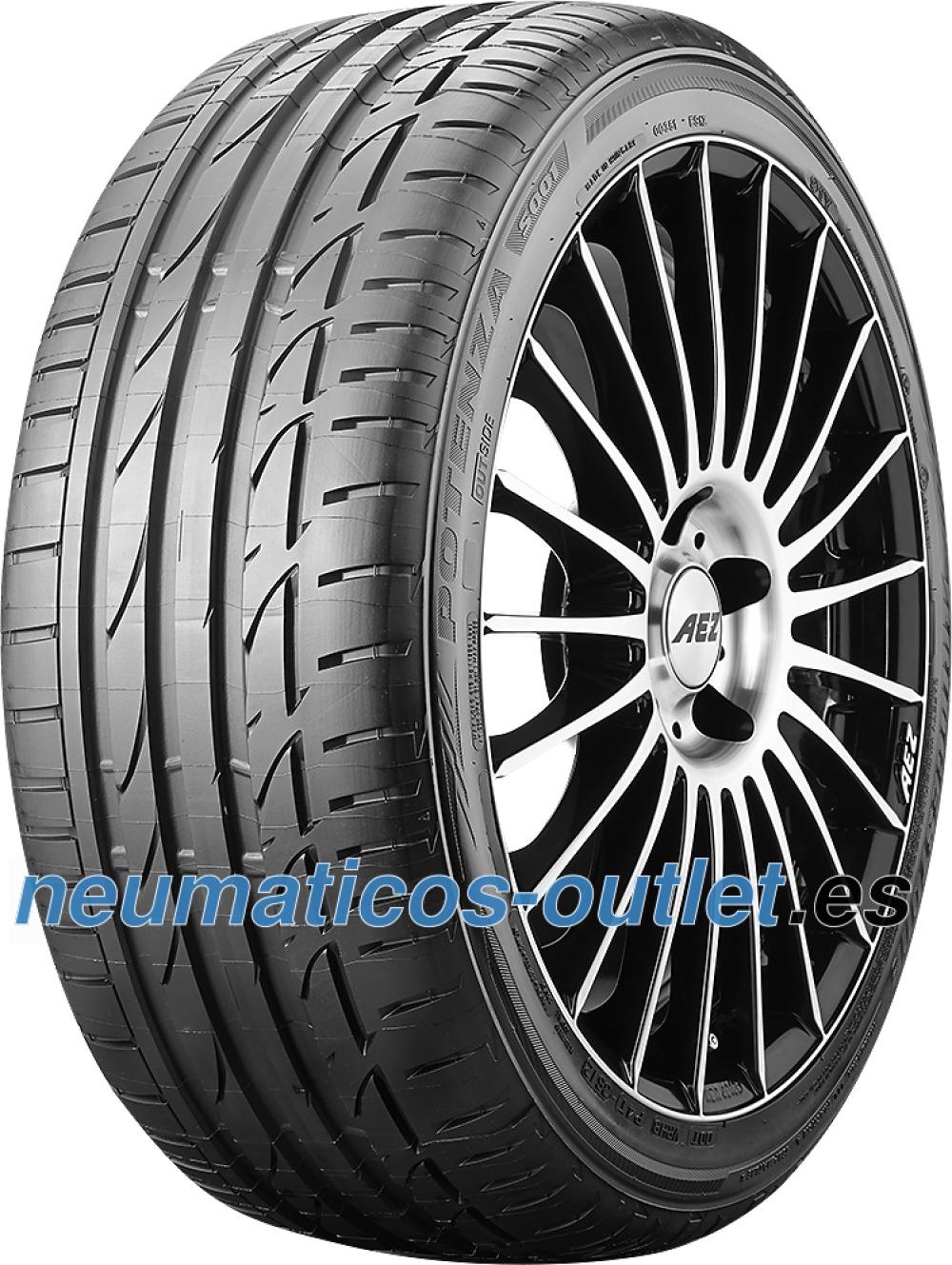 Bridgestone Potenza S001 RFT ( 225/40 R19 89Y AR, con protector de llanta (MFS), runflat )