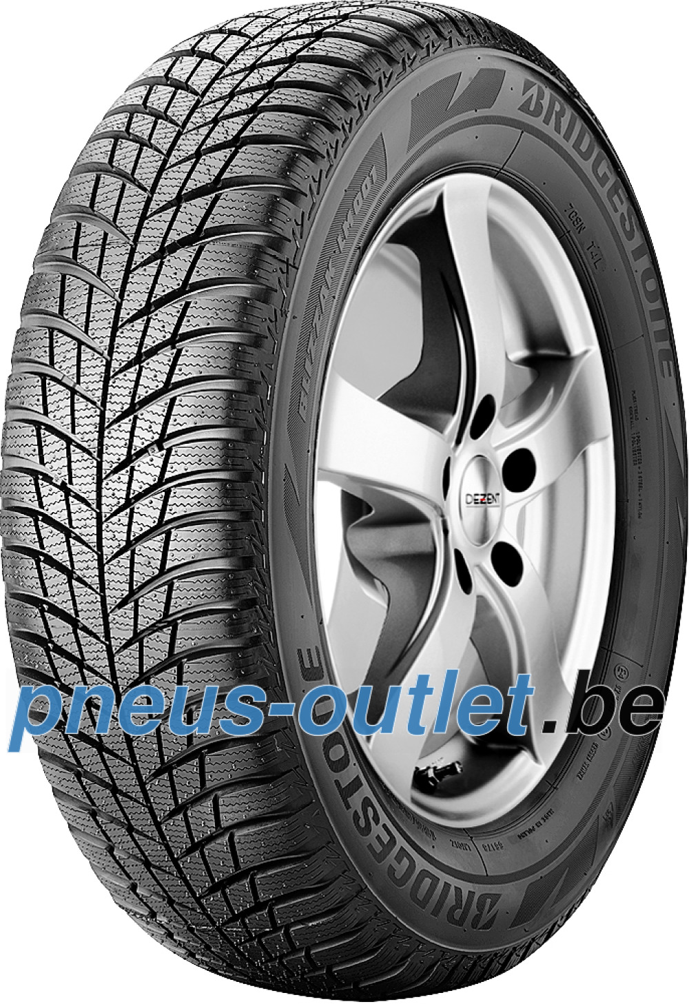 Bridgestone Blizzak LM 001 ( 195/55 R16 87H , avec protège-jante (MFS) )