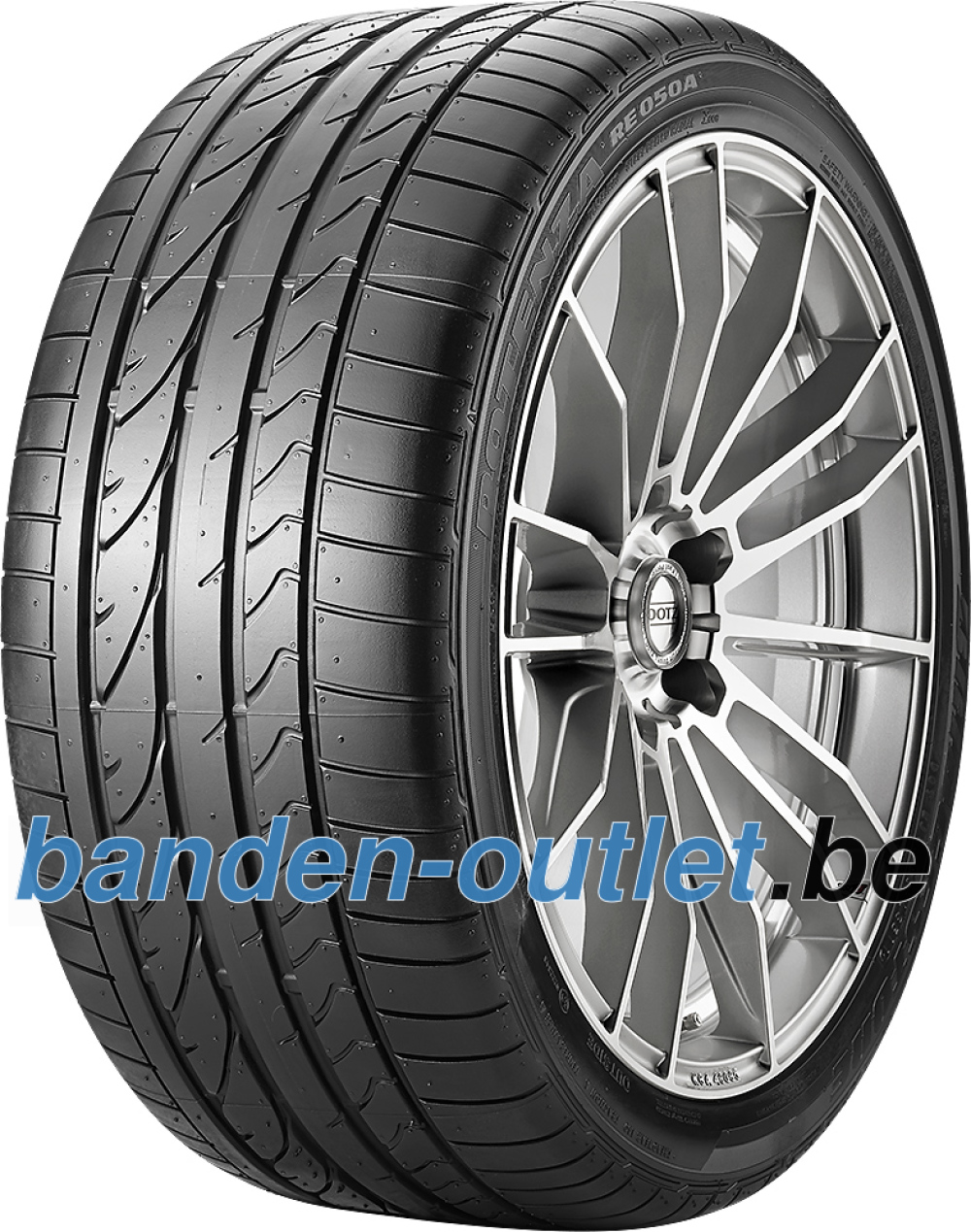 Bridgestone Potenza RE 050 A Ecopia RFT ( 225/45 R17 91W *, runflat, met velgrandbescherming (MFS) )
