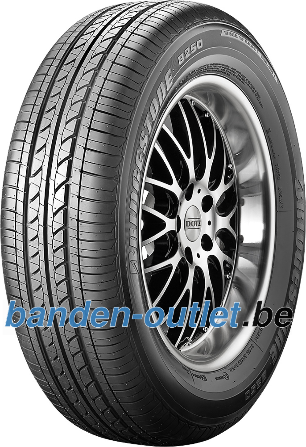 Bridgestone B 250 ( 175/55 R15 77T met velgrandbescherming (MFS) )