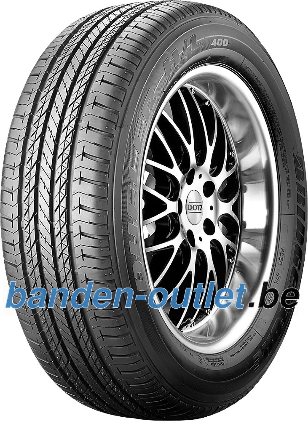 Bridgestone Dueler H/L 400 RFT ( 255/50 R19 107H XL *, met velgrandbescherming (MFS), runflat )