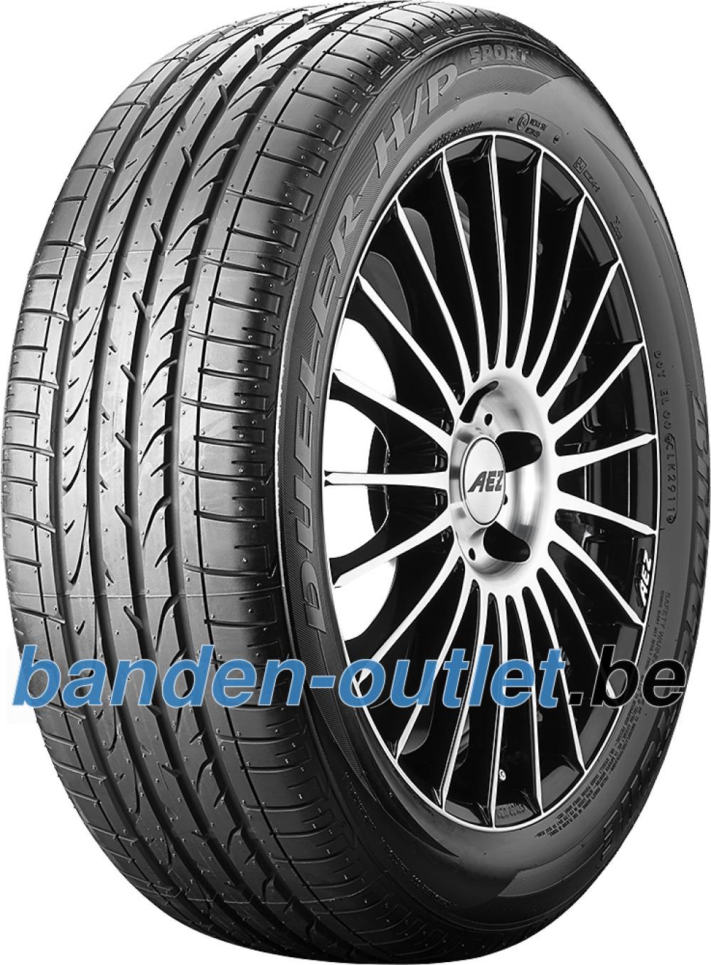 Bridgestone Dueler H/P Sport RFT ( 225/45 R18 91V *, met velgrandbescherming (MFS), runflat )