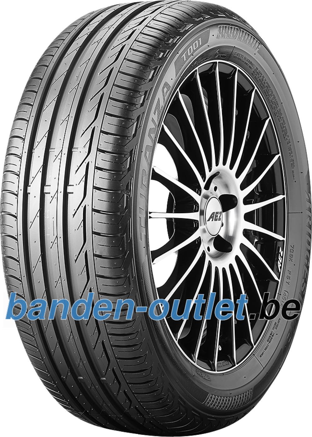 Bridgestone Turanza T001 ( 225/45 R17 91V MO, met velgrandbescherming (MFS) )