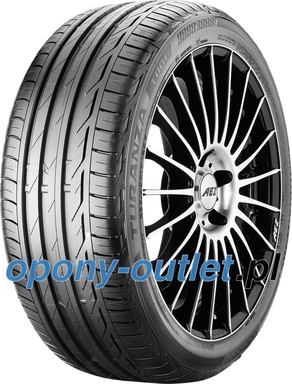 Bridgestone Turanza T001 Evo ( 245/40 R18 93Y osłona felgi (MFS) )