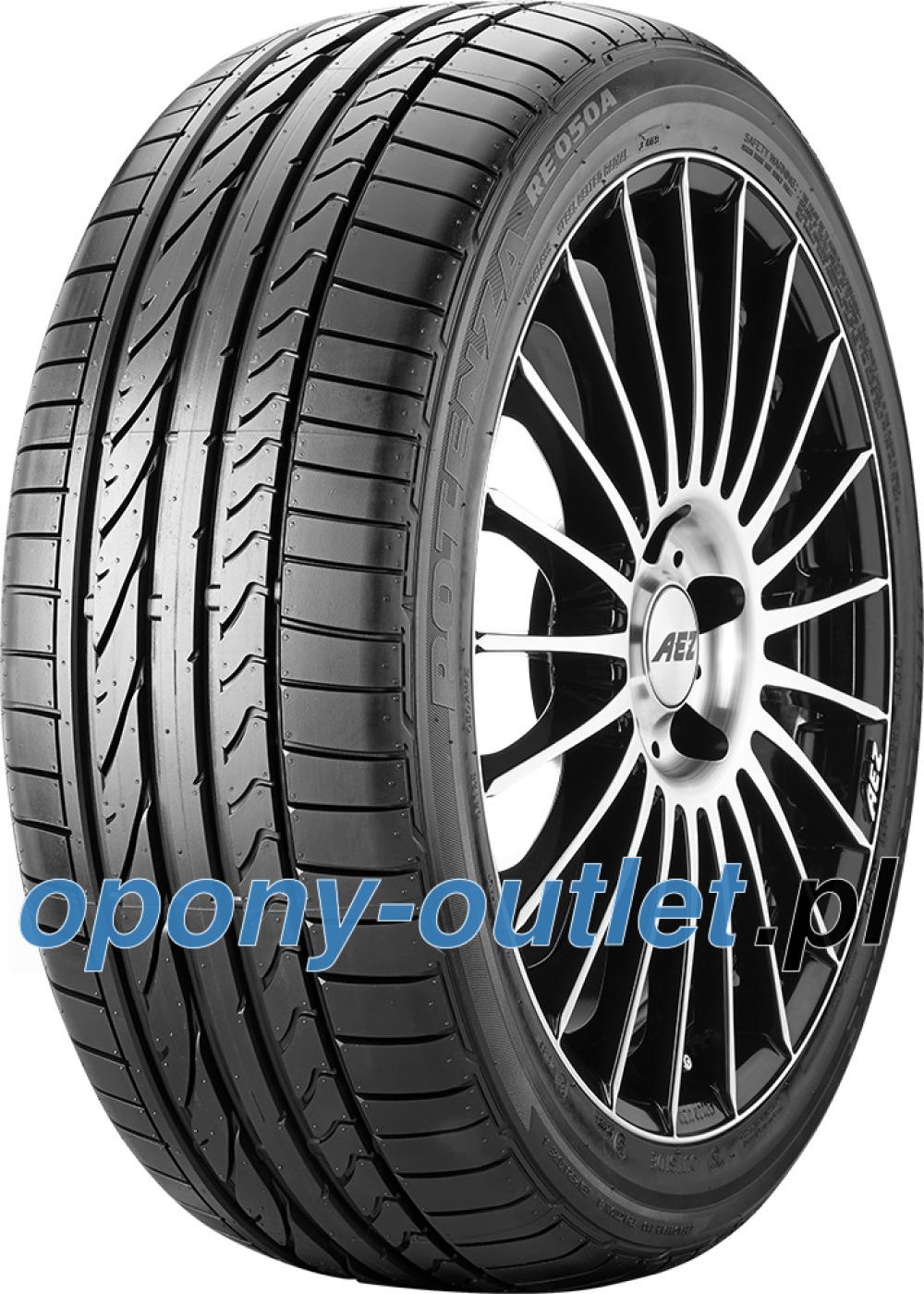Bridgestone Potenza RE 050 A ( 305/30 ZR19 (102Y) XL N1, osłona felgi (MFS) )