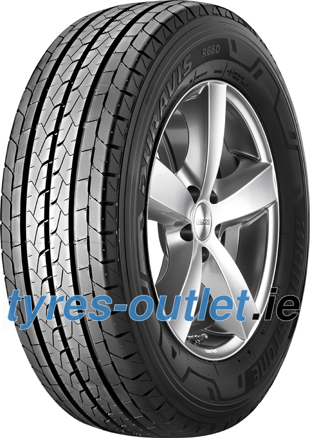 Bridgestone Duravis R660 ( 205/65 R15C 102/100T 6PR )