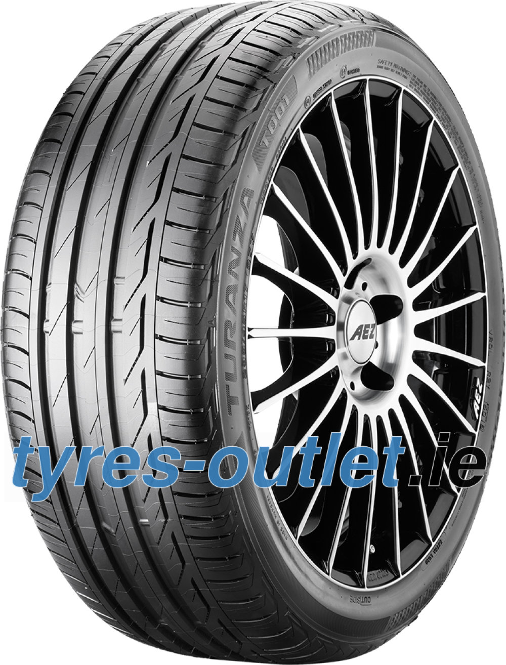 Bridgestone Turanza T001 Evo ( 225/50 R16 92W with rim protection (MFS) )