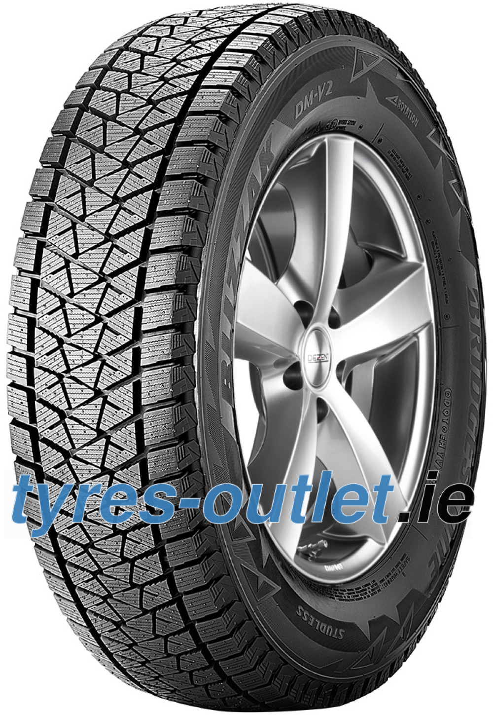 Bridgestone Blizzak DM V2 ( 255/60 R17 106S , with rim protection (MFS) )