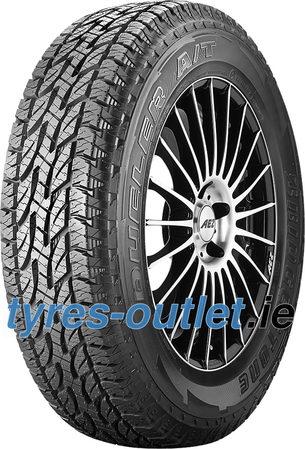 Bridgestone Dueler A/T 694 ( 215/65 R16 98T , with rim protection (MFS) RBL )
