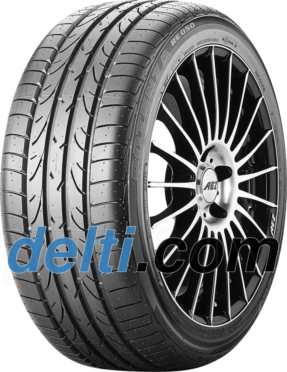Bridgestone Potenza RE 050 EXT ( 215/45 R17 87V runflat, MOE, with rim protection (MFS) )