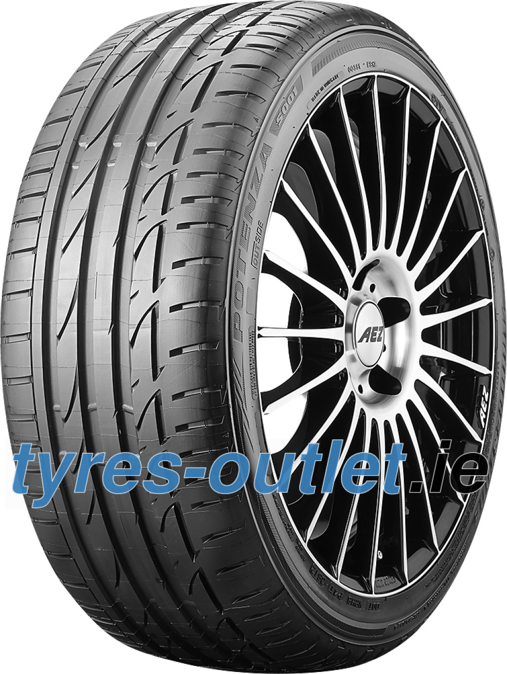 Bridgestone Potenza S001 RFT ( 225/50 R17 94W AR, with rim protection (MFS), runflat )