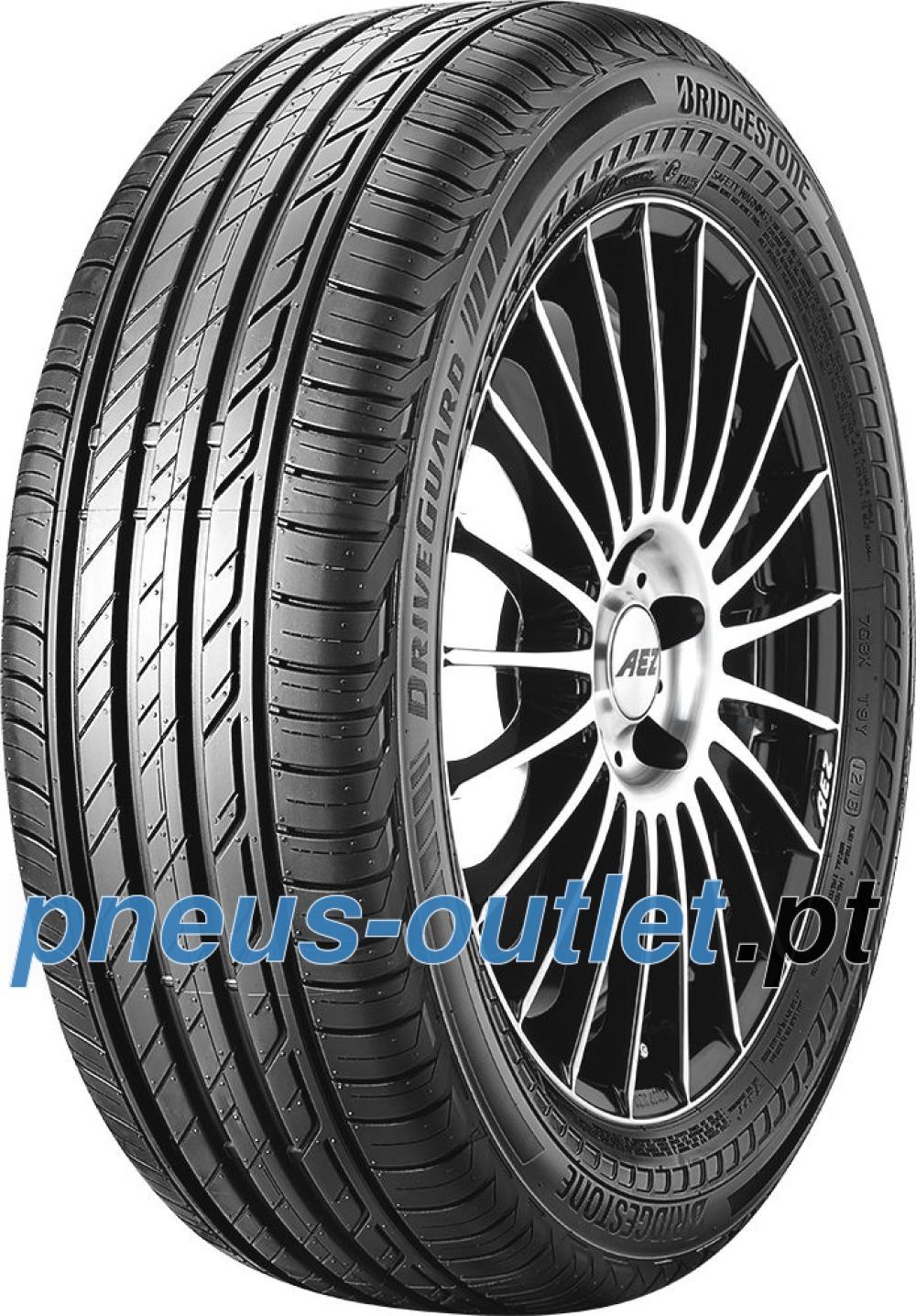 Bridgestone DriveGuard RFT ( 225/40 R18 92Y XL runflat, com protecção da jante (MFS), DriveGuard )