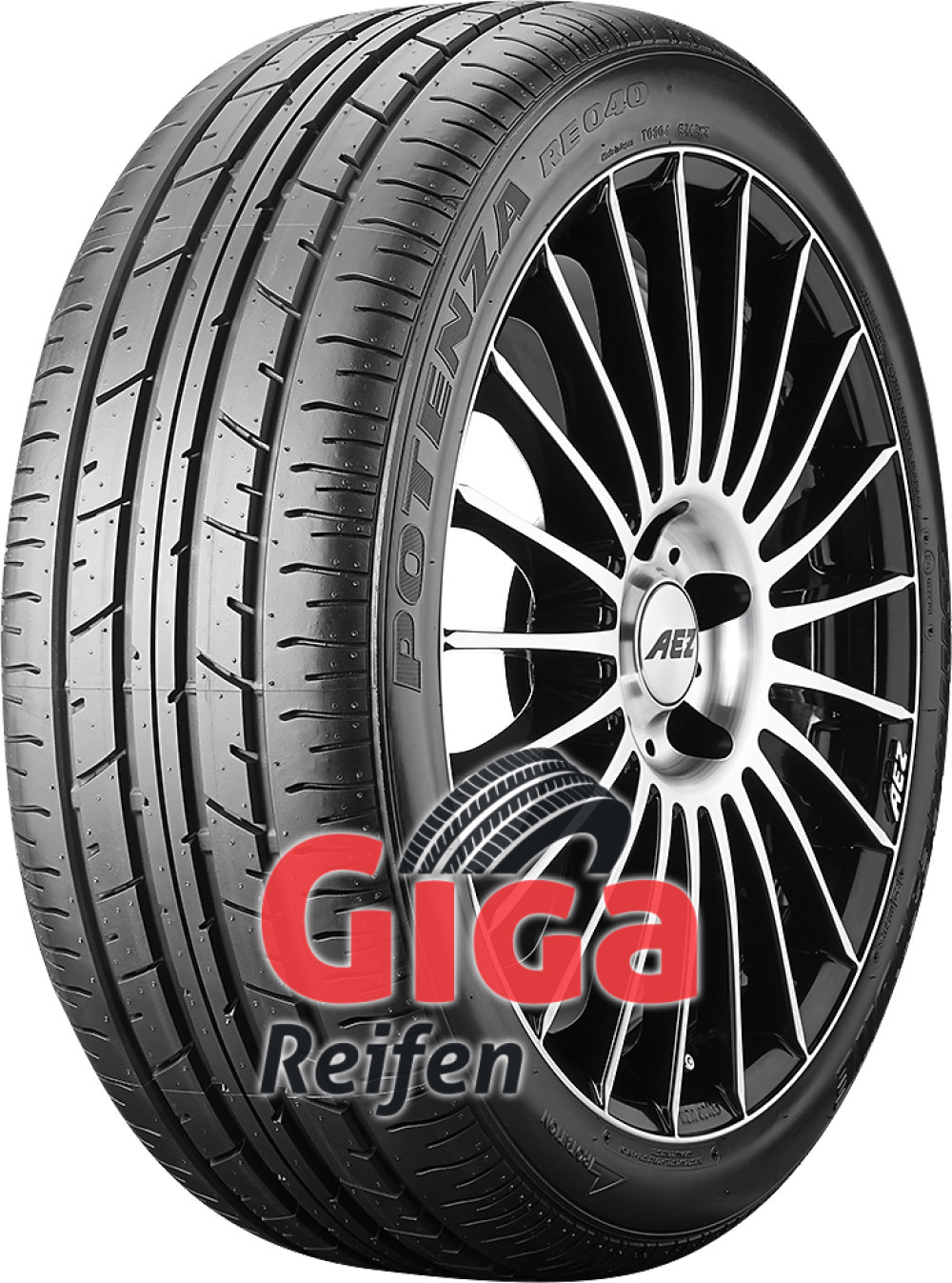 Bridgestone Potenza RE 040 RFT ( 245/40 ZR18 93Y runflat )