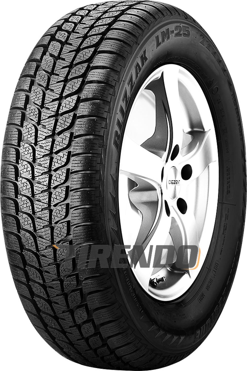 Bridgestone Blizzak LM-25 4x4 RFT ( 255/50 R19 107V XL , runflat, *, mit Felgenschutz (MFS) )