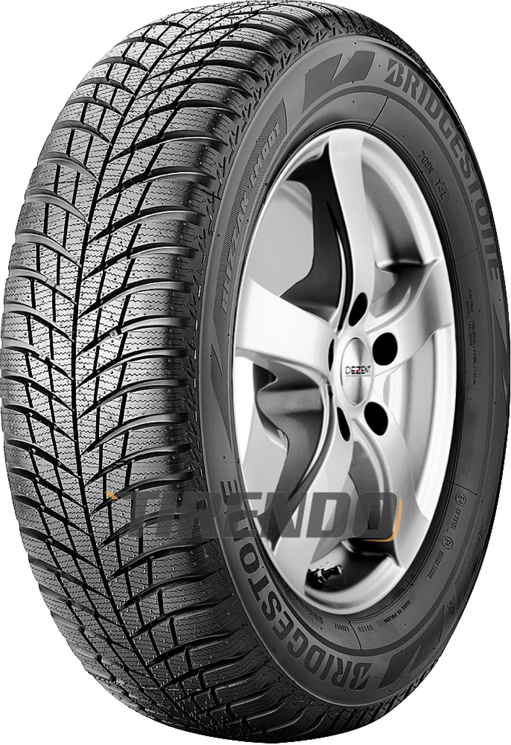 Bridgestone Blizzak LM 001 ( 215/55 R16 93H , mit Felgenschutz (MFS) )
