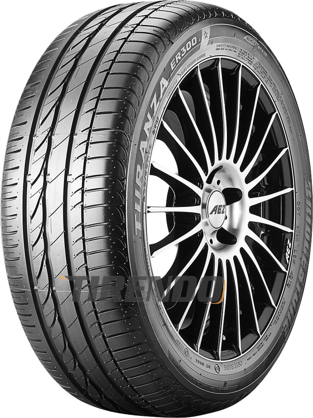 Bridgestone Turanza ER 300A Ecopia ( 195/55 R16 87W *, mit Felgenschutz (MFS) )