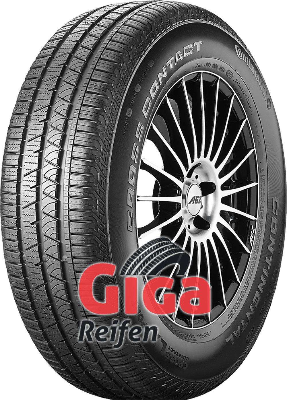 Continental ContiCrossContact LX Sport ( 235/60 R18 103H mit Felgenrippe,AO )