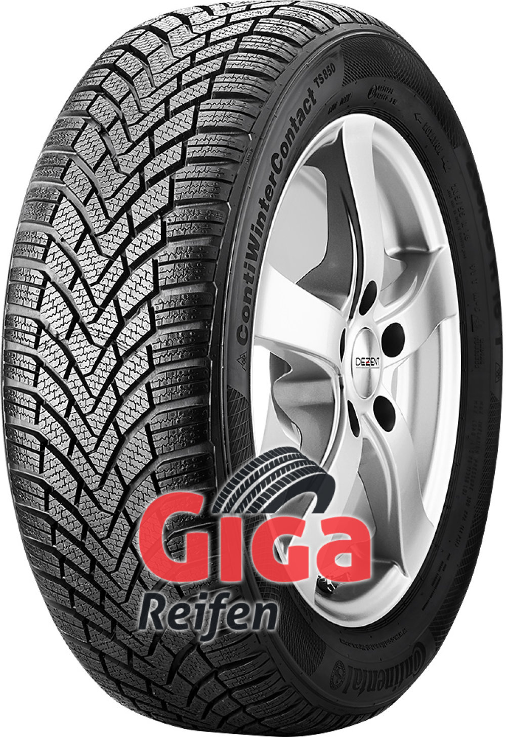 Continental WinterContact TS 850 ( 195/60 R15 88T )