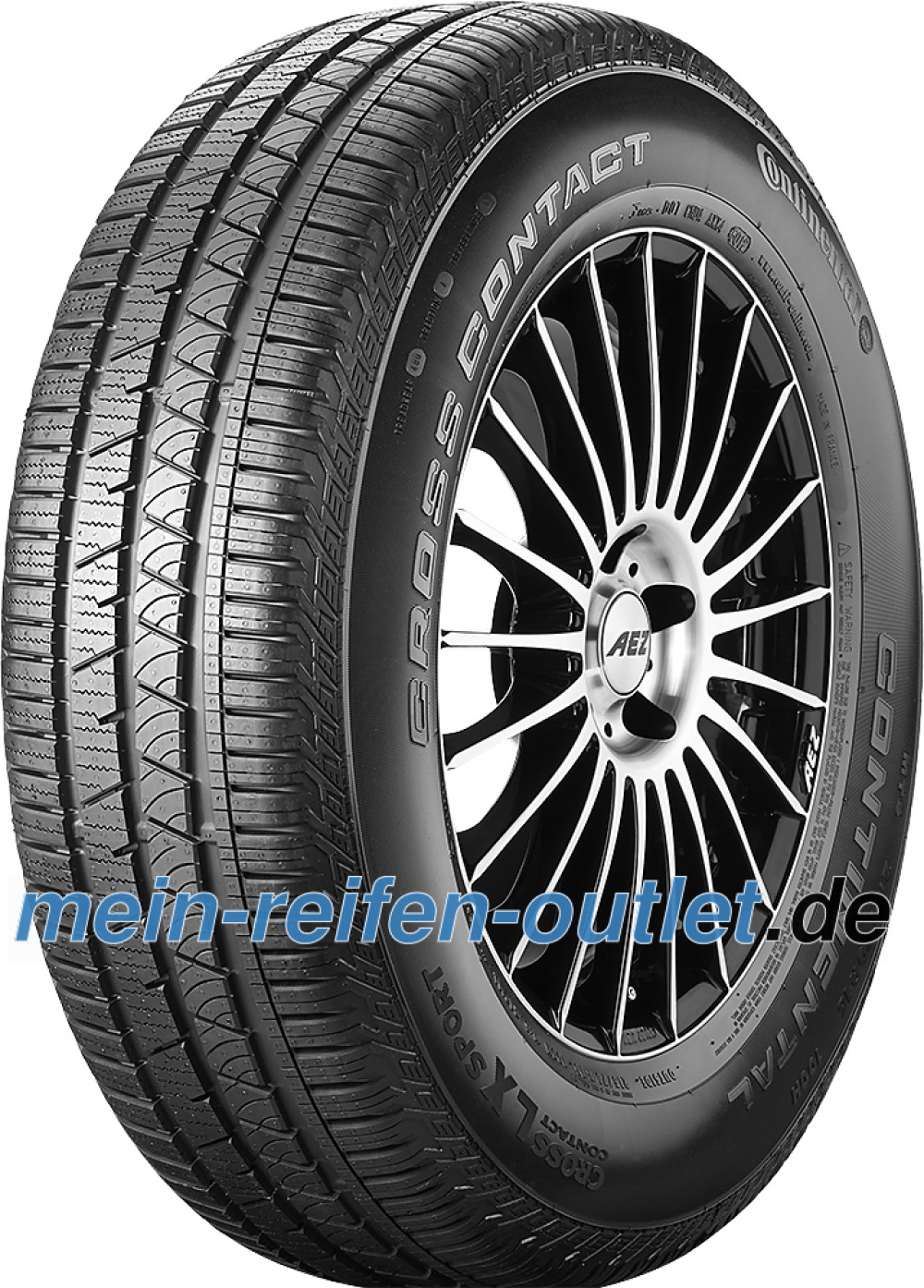 Continental ContiCrossContact LX Sport ( 255/45 R20 105H XL , VOL, mit Felgenrippe )