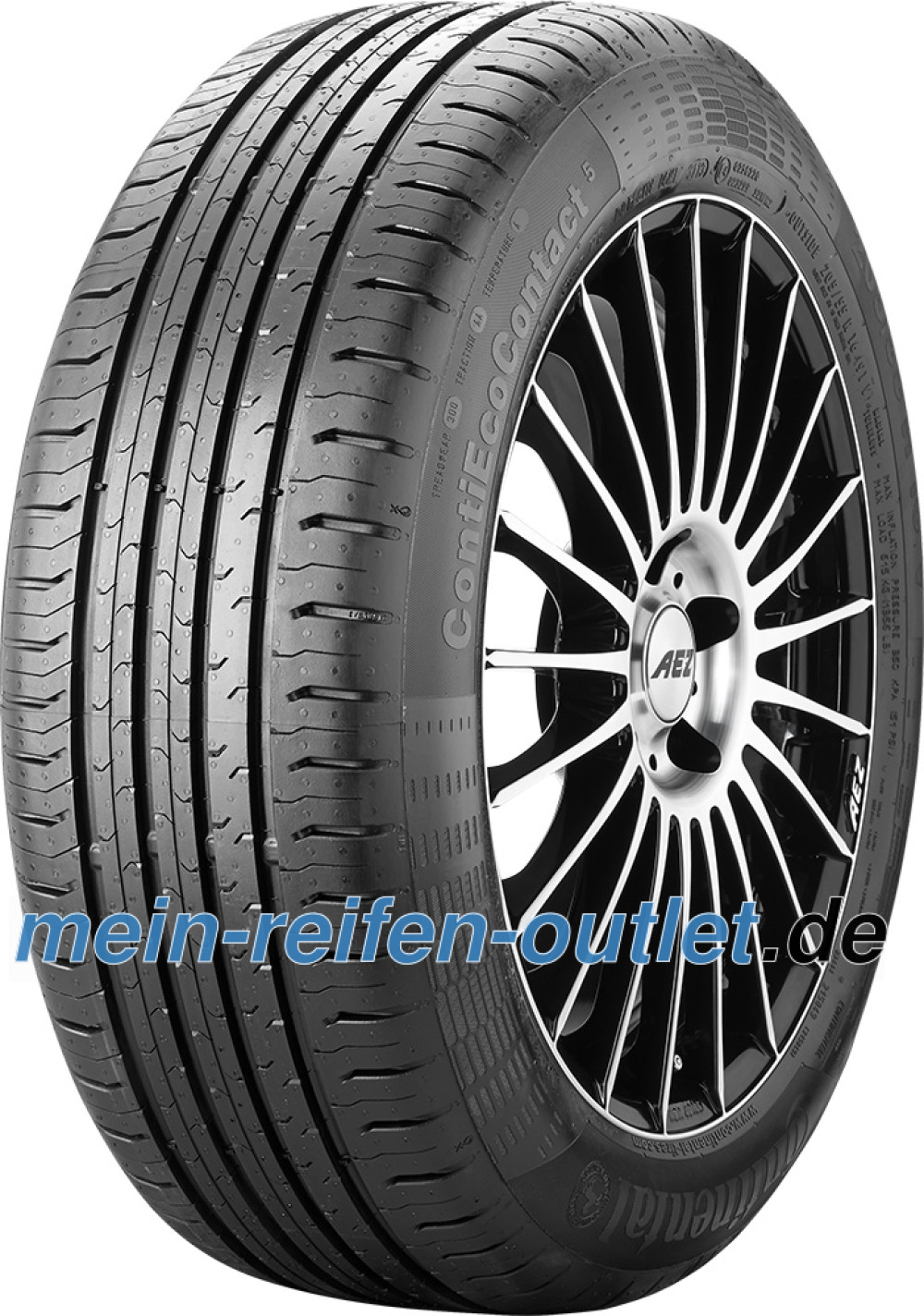 Continental EcoContact 5 ( 195/65 R15 91H )