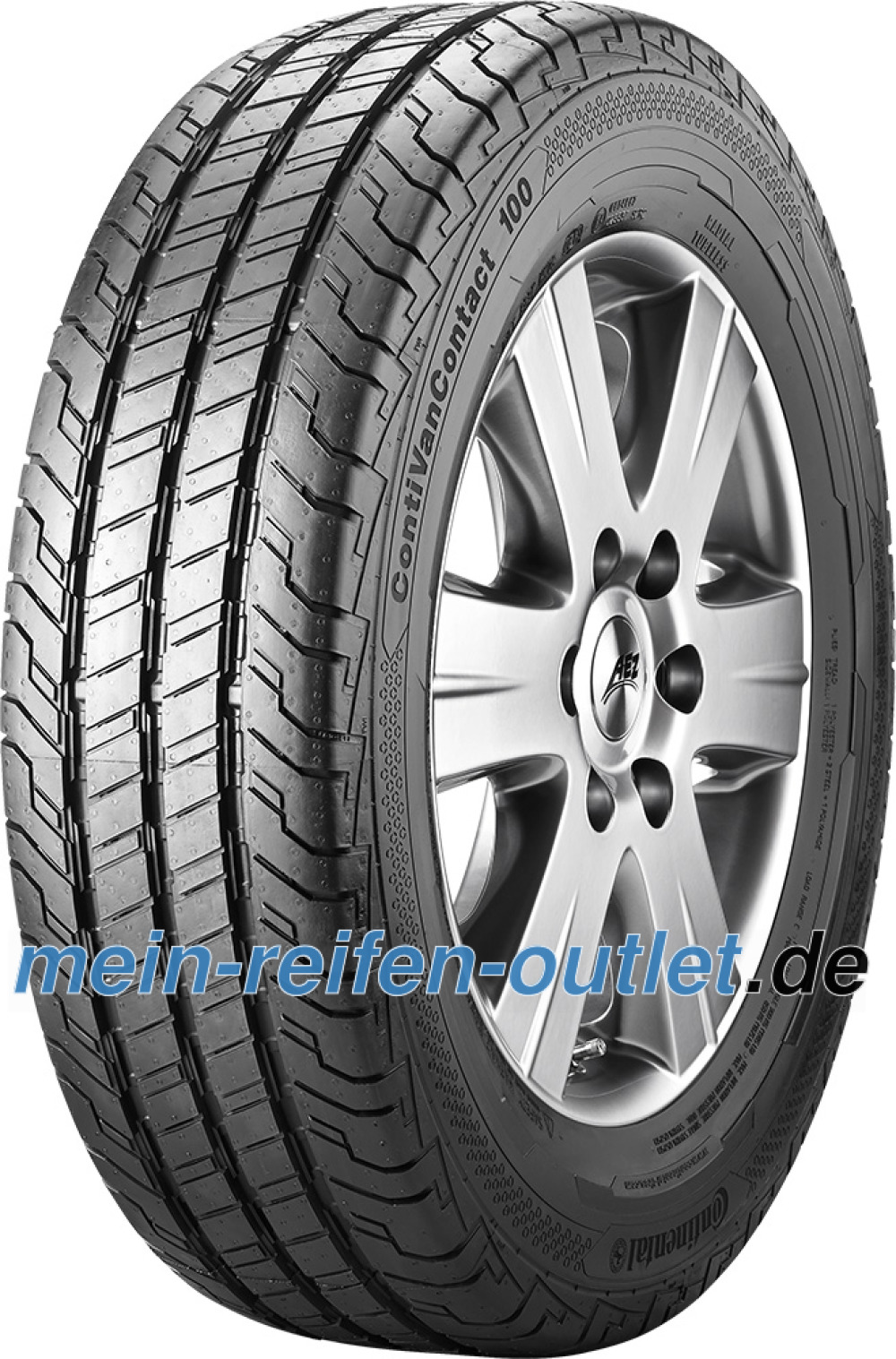 Continental ContiVanContact 100 ( 205/65 R16C 107/105T 8PR Doppelkennung 103T )