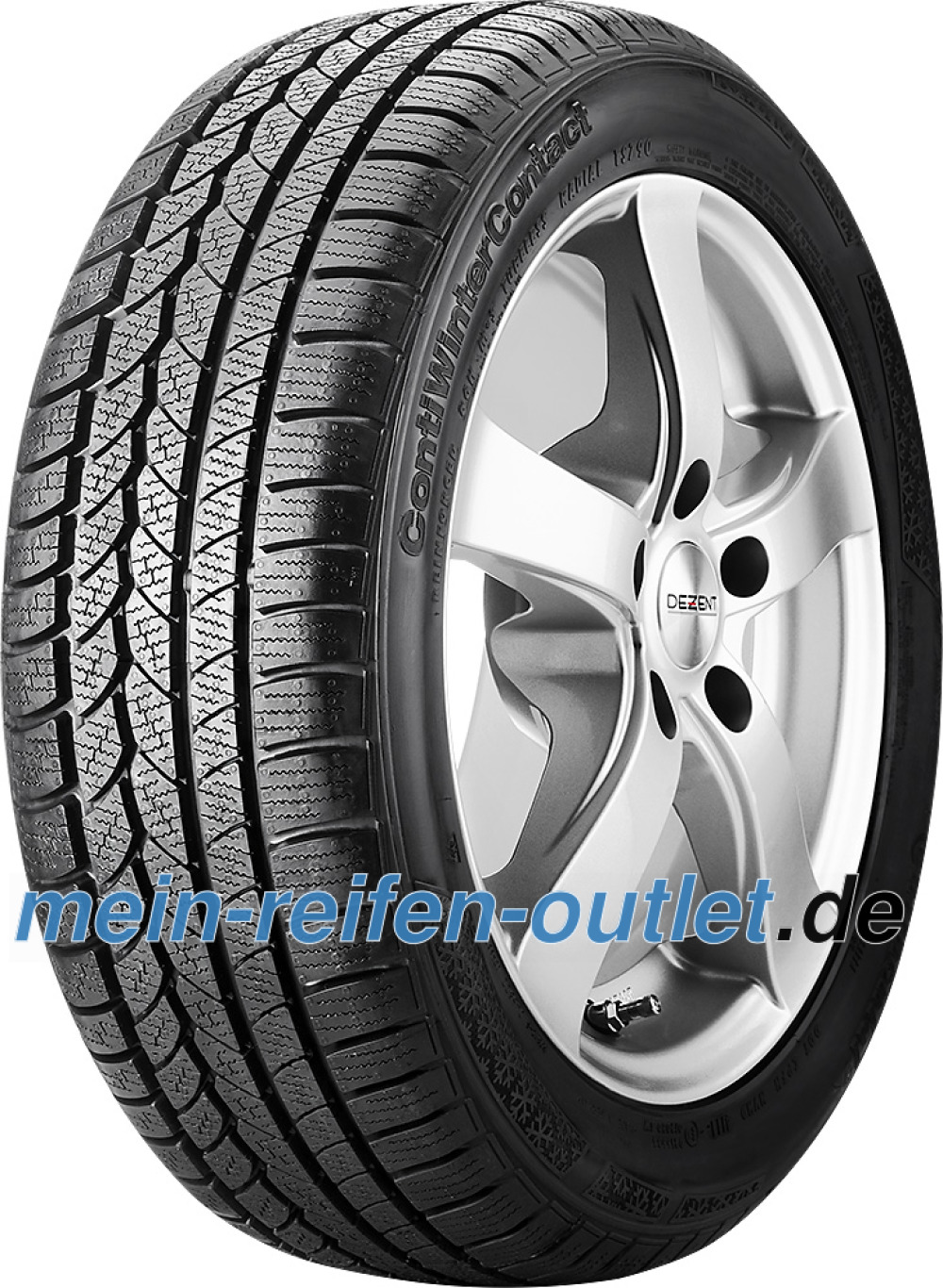 Continental WinterContact TS 790 ( 245/55 R17 102H *, mit Felgenrippe )