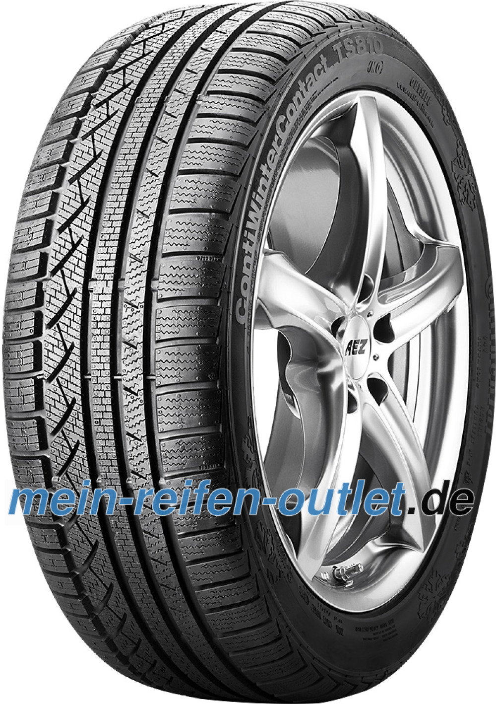 Continental WinterContact TS 810 ( 195/60 R16 89H , mit Leiste, MO )