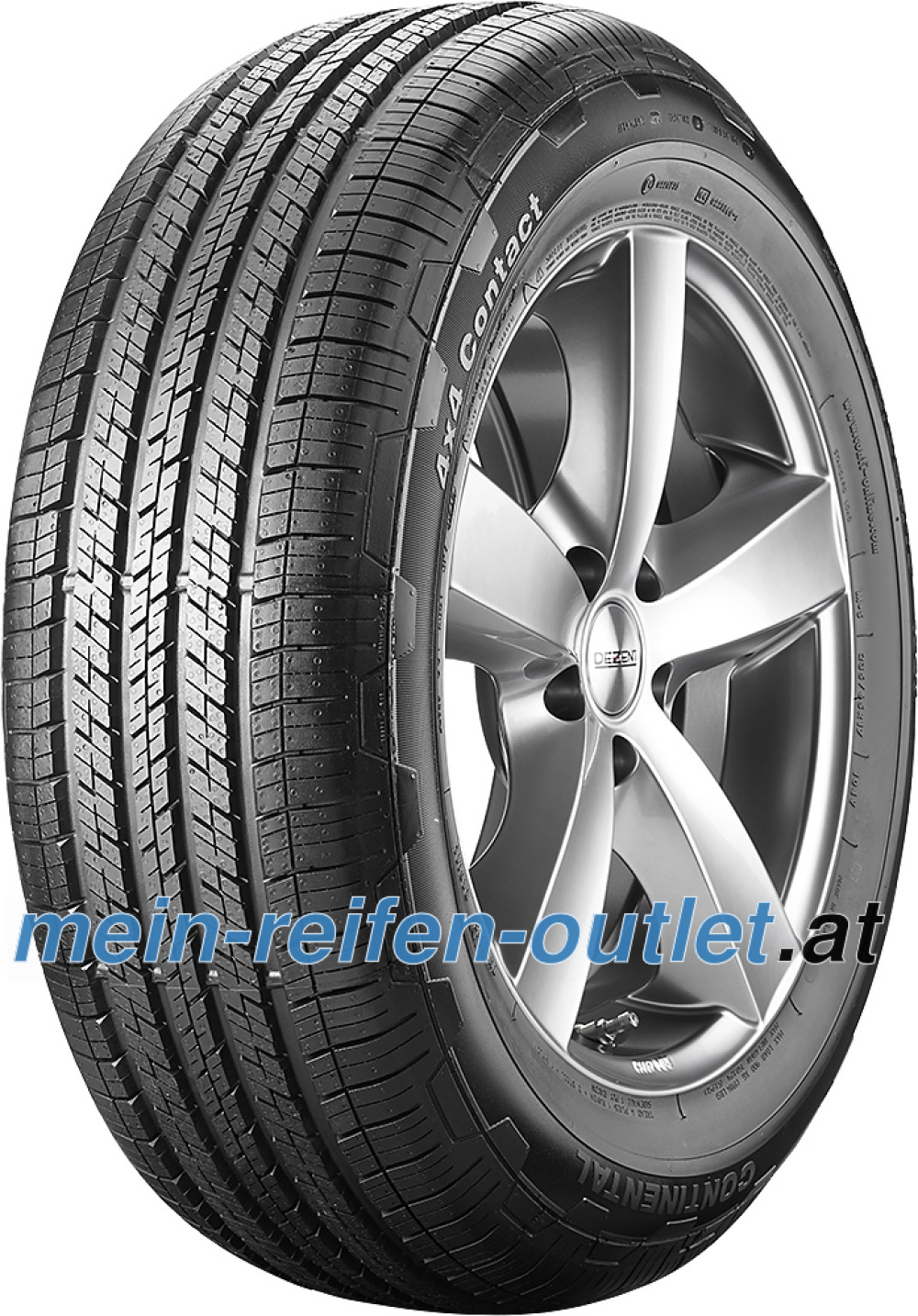 Continental 4X4 Contact ( P275/45 R19 108V XL , N0, mit Felgenrippe )