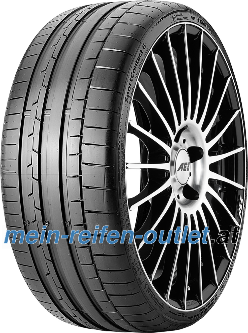 Continental SportContact 6 ( 305/30 ZR19 (102Y) XL mit Felgenrippe )